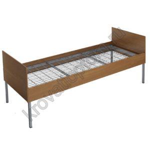 Кровать металлическая одноярусная КБ-1(800)