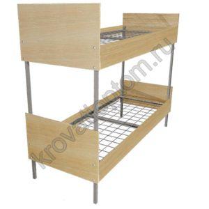 Кровать металлическая двухъярусная КБ-2(700)