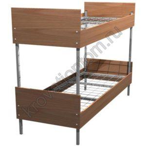 Кровать металлическая двухъярусная КБ-2(800)