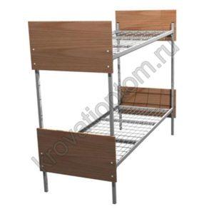 Кровать металлическая двухъярусная КО-2(800)