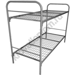Кровать металлическая двухъярусная С-2+ (800)