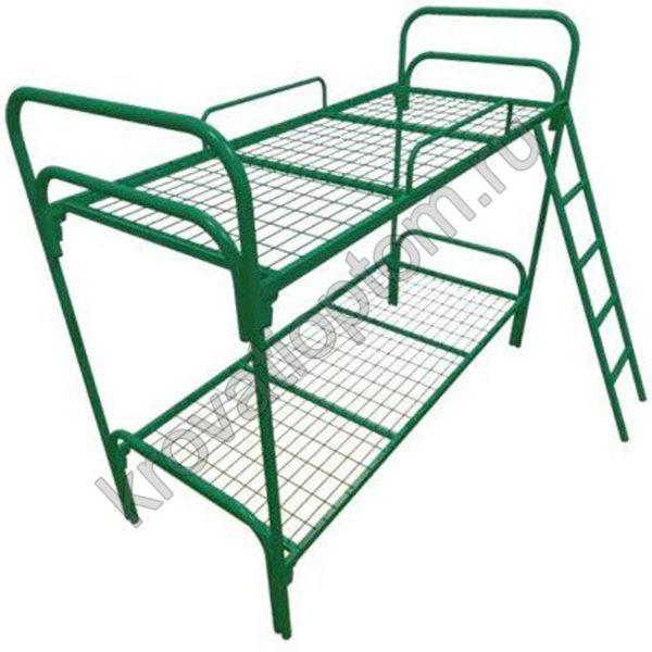 Кровать с лестницей и ограждением СБ-2 (800)