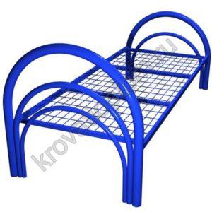 Кровать металлическая одноярусная КС-1(3) (800)