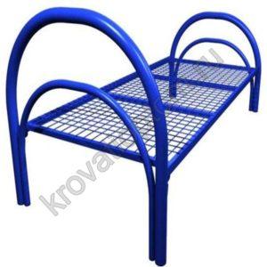 Кровать металлическая одноярусная КС-1 (800)