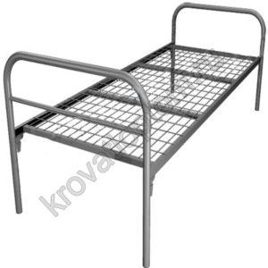Кровать металлическая одноярусная С-1+(800)