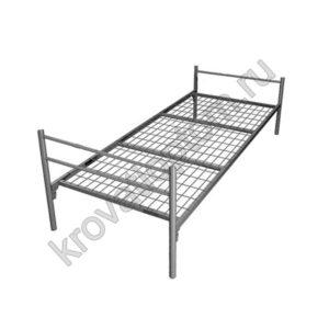 Кровать металлическая одноярусная С-1У (800)