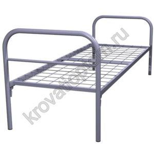 Кровать металлическая одноярусная С-1 (700)