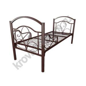 Кровать металлическая Комфорт Люкс 1