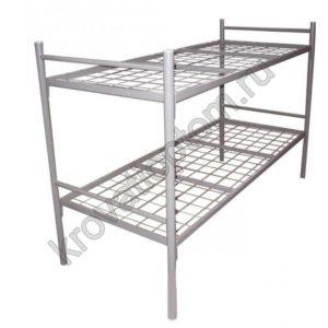 Кровать металлическая двухъярусная С-2У (800)